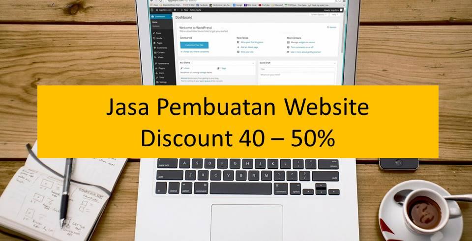 Jasa pembuatan website, website murah, website profesional, website company profile, website toko online, website katalog online